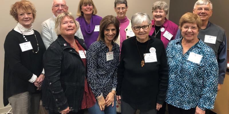 LWVCKC Members at the 2019 IL issues briefing