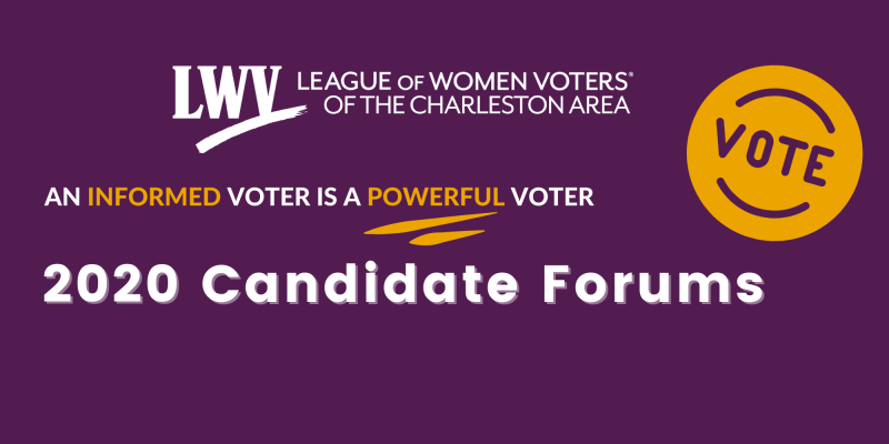 An Informed Voter is a Powerful Voter: Register for our virtual candidate forums here.