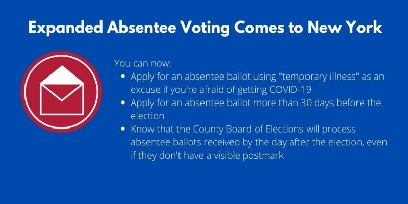 Expanded Absentee Voting Comes to New York