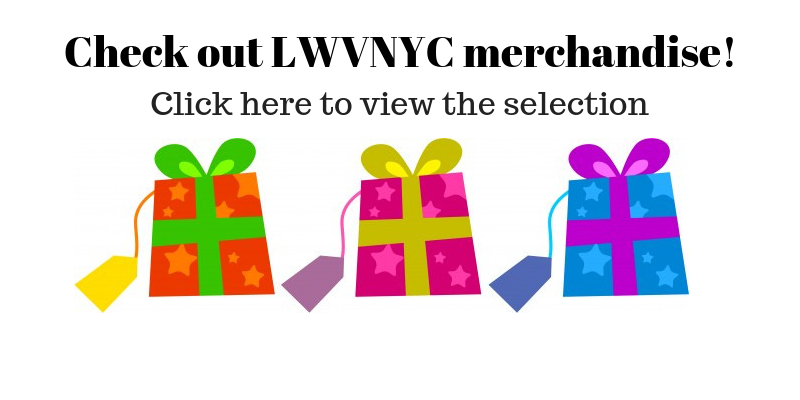 Check out LWVNYC Merchandise!