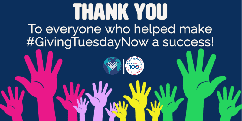 Thank you to all who donated on #GivingTuesdayNow!