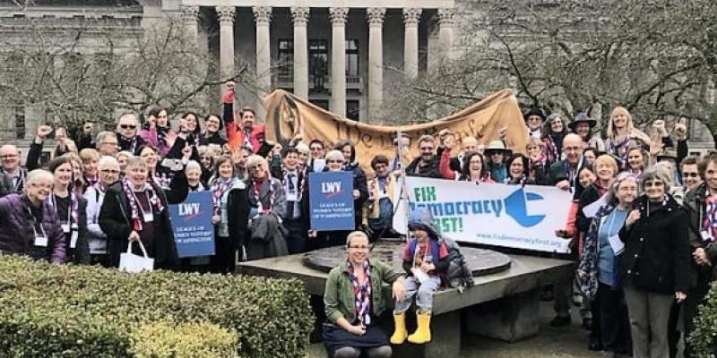 LWV Democracy Day in Olympia