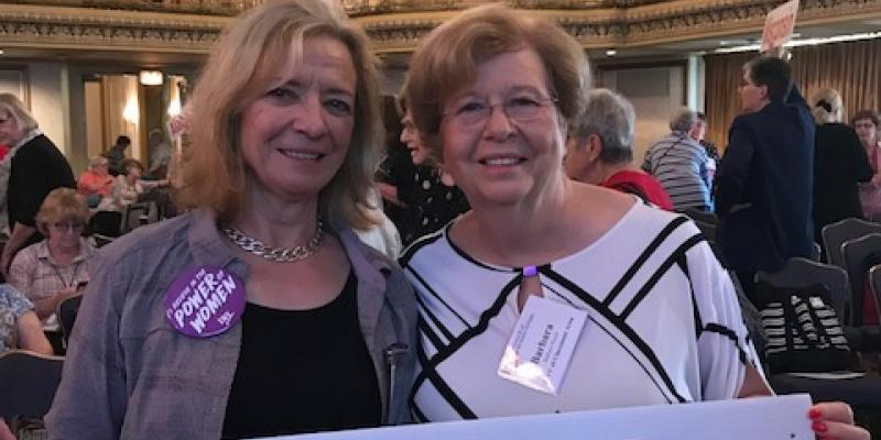 Claremont Area at the 2018 LWVUS Convention in Chicago
