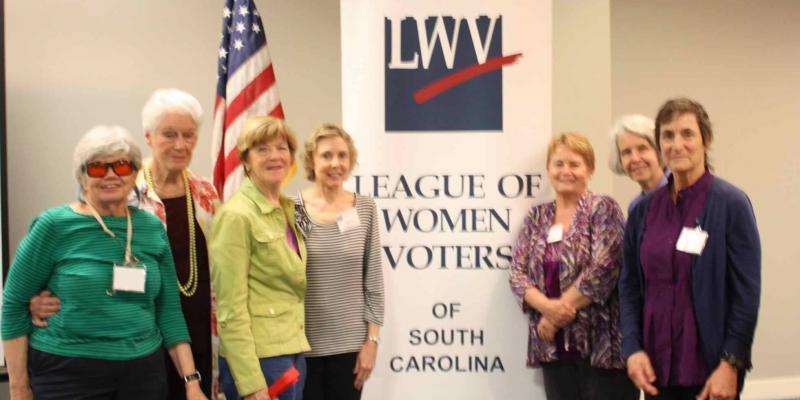 LWV Clemson Area Group Photo