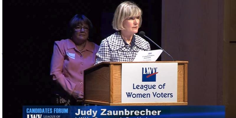 Judy Zaunbrecher - August 2018 candidate forum