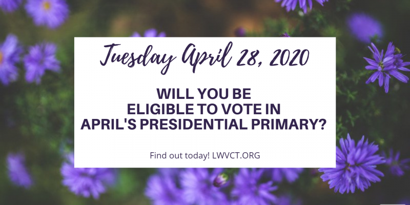 Presidential Primary April 28 2020 Image banner Large