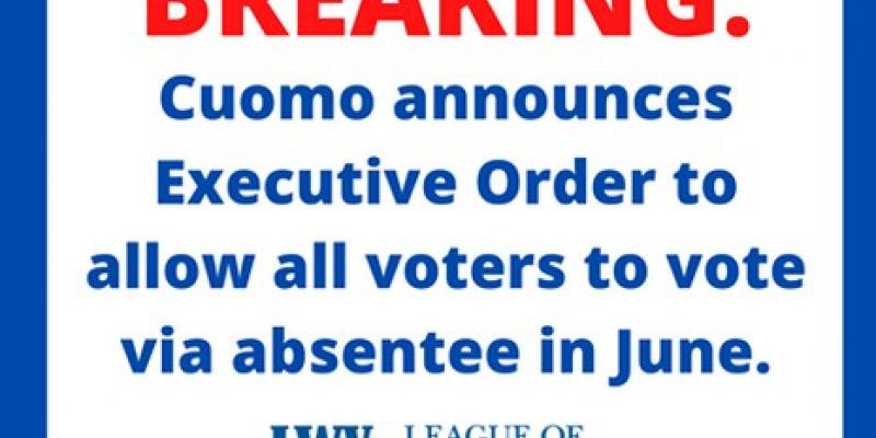 Absentee ballots for all