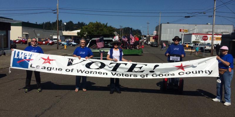 LWVCC participates in 2014 parade.