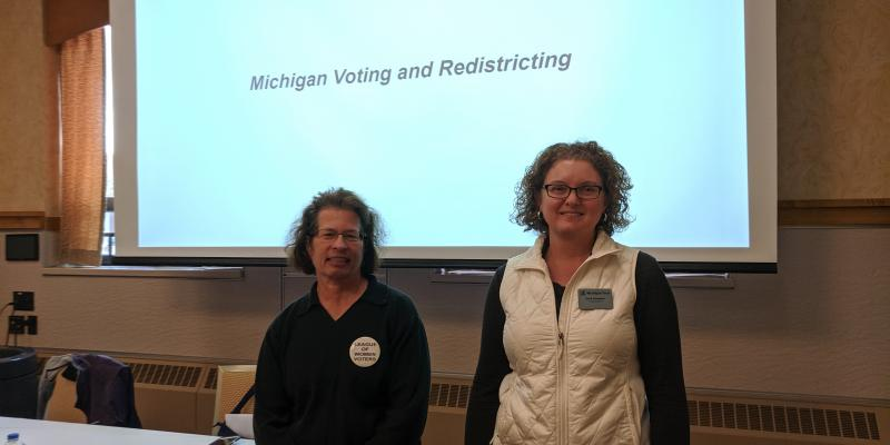 Michigan Voting and Redistricting at MTU D80 Conference 10-12-2019