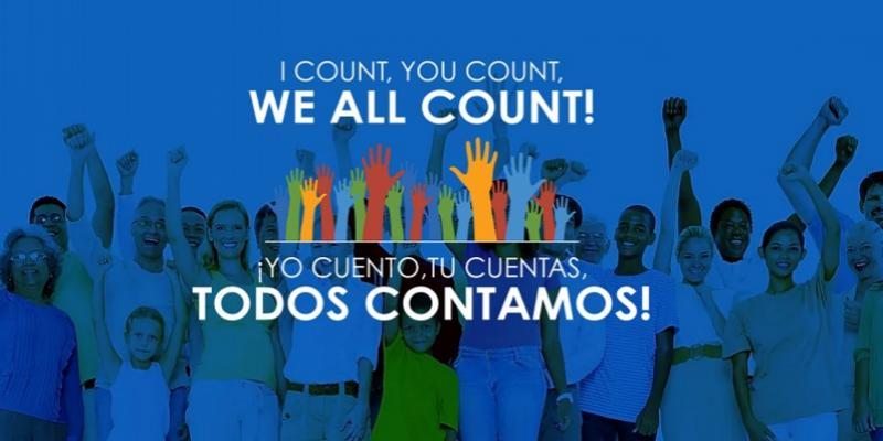 We all count; todos contamos.