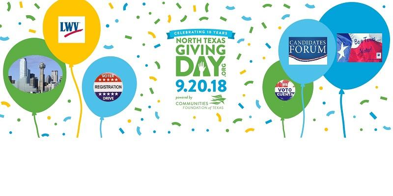 North Texas Giving Day 9/20/2018