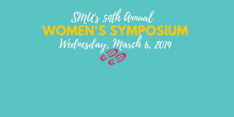 SMU's 54th Women's Symposium March 6; Stomping Grounds