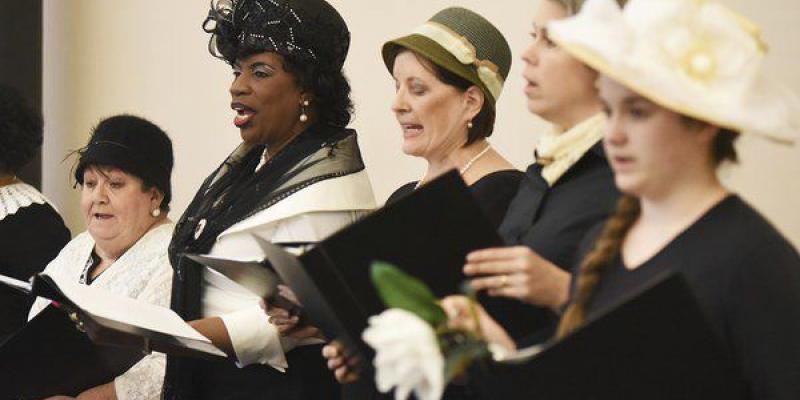 "LWV Dalton Area members perform play, ""We Hold These Truths"""