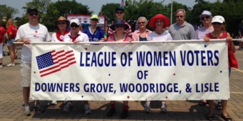 LWVDWGL (IL) July 4th Parade