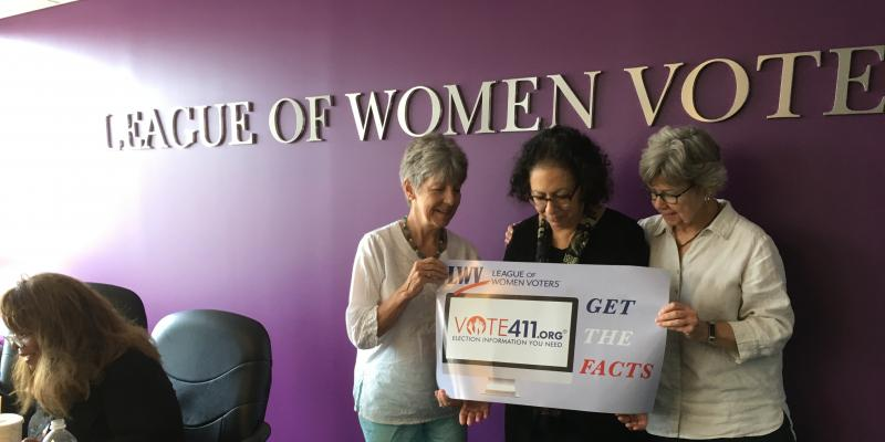 Frederick County League of Women Voters Members