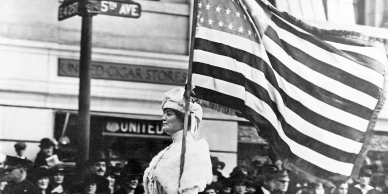NYC 1914 Suffrage Parade