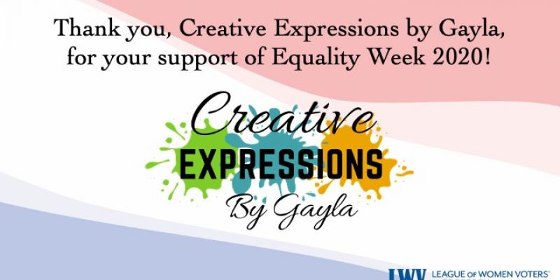 Creative Expressions, Equality Week