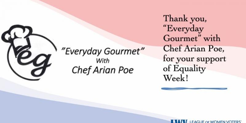 Equality Week, Everyday Gourmet