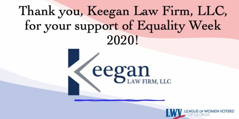 Keegan Law Firm LLC, Equality Week, LWVGA