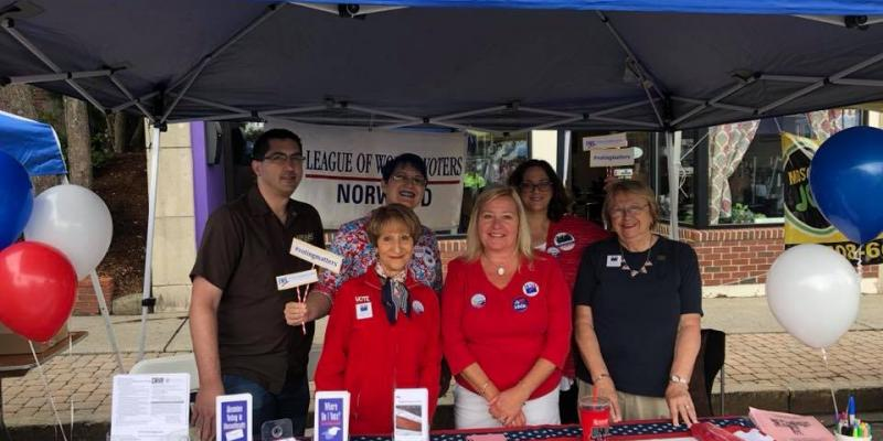 Join LWV Norwood