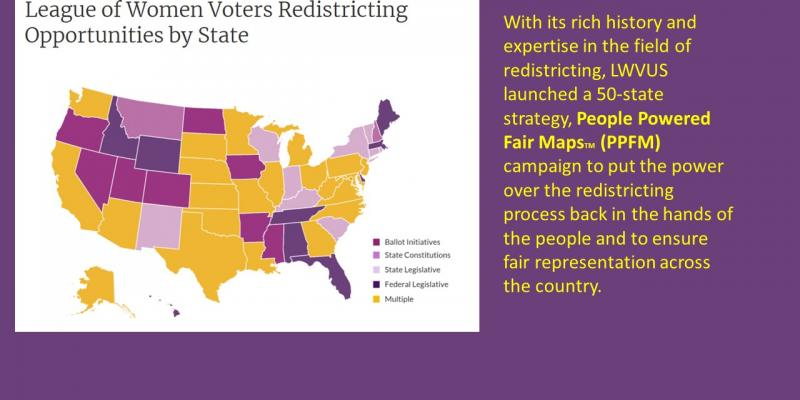 People Powered Fair Maps national map