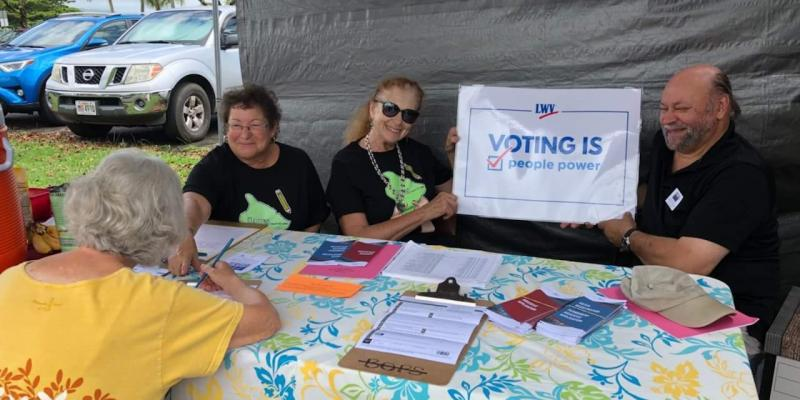 Voter Registration Drive - Wiki Hilo