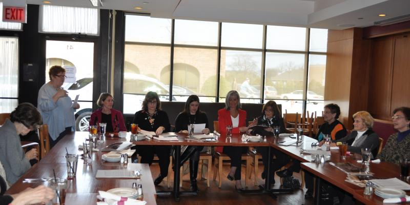 LWV and local Women in Government