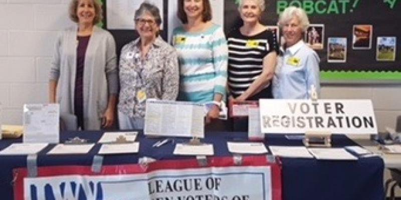 Voter Registration spring 2018