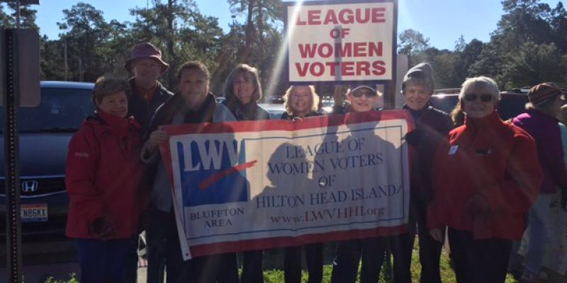 Leaguers at MLK March 2016