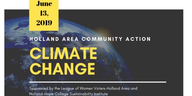 Climate Change event logo