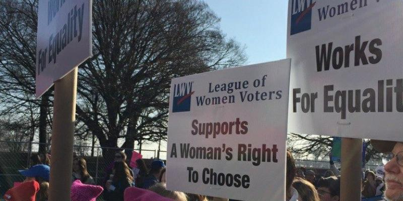 League of Women Voters of Homewood-Flossmoor Area is attending the Chicago Women's March 2020!