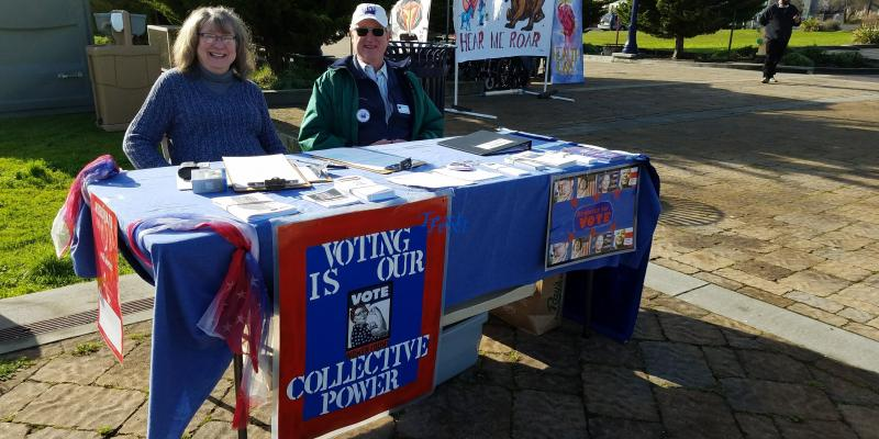 Local League members ready to register voters