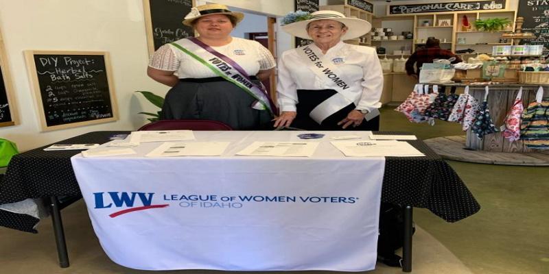 LWVID Votes for Women