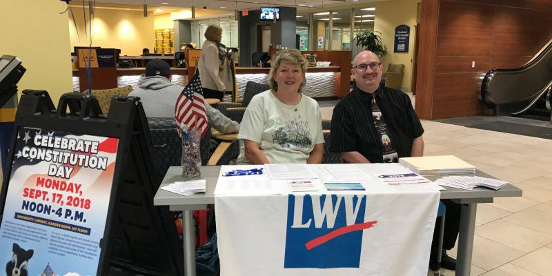 Voter Service Event with Voter Registration