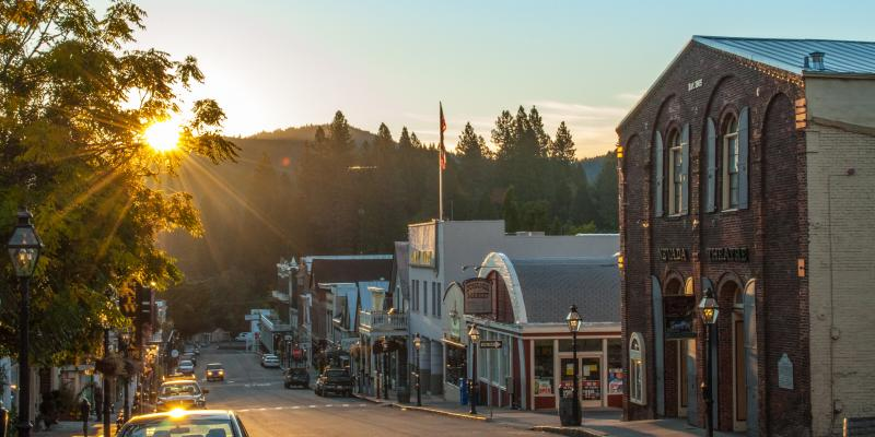 Kial James Photography - Nevada City Sunrise