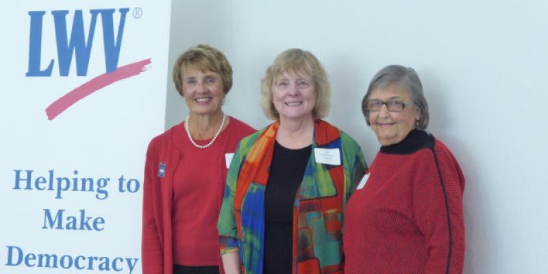 LWVLee Past Presidents at 70th Anniversary Celebration