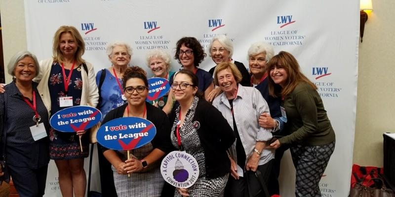 LWV Los Angeles at LWVC Convention, 2017