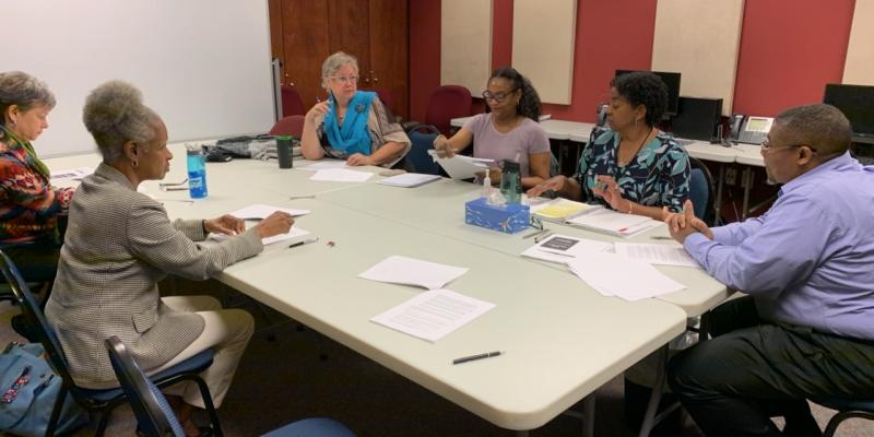 Voter Services training with Cobb Bod of Elections