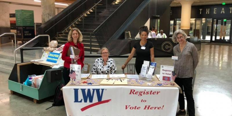 lwv memphis shelby county National Voter Registration Day