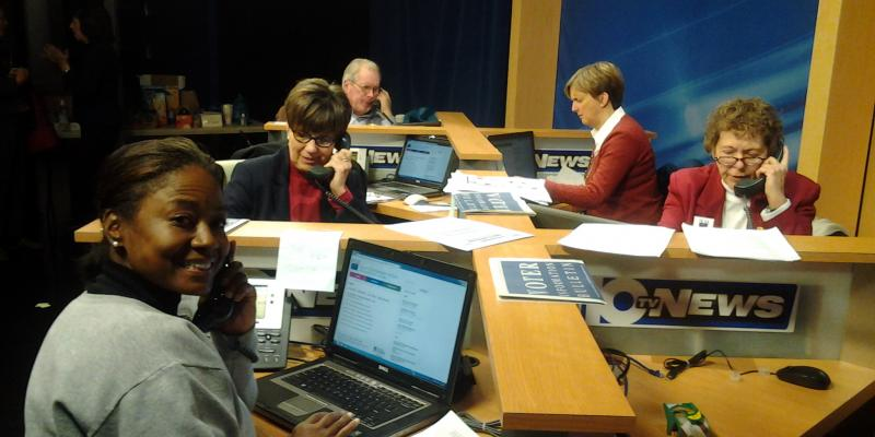 LWVMC Volunteers Staff the Election Day Phone Bank