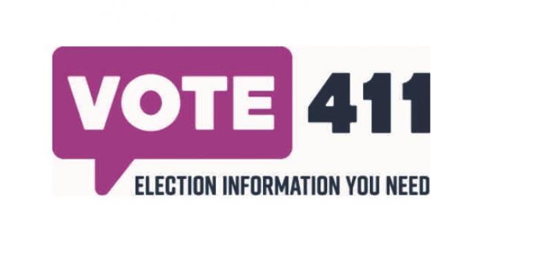 Vote 411 logo