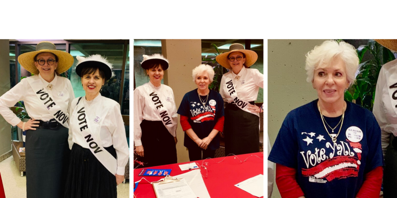 LWV Mississippi 100 years of women's suffrage forum
