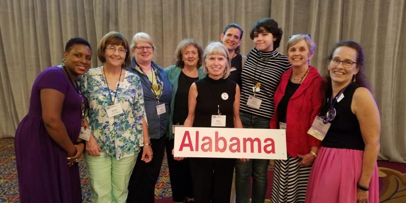 LWV Alabama members at LWVUS Convention 2018
