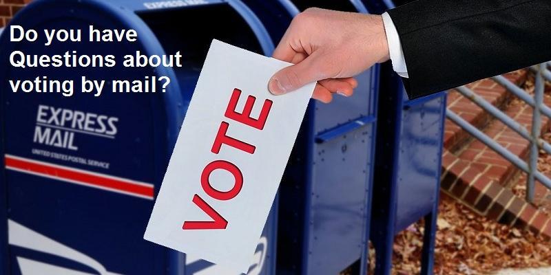 Vote by mail FAQ