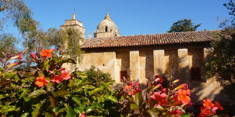 Carmel Mission by Rita Costa-Hollmann