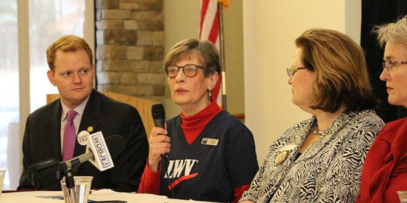 Four panelists discuss ratifying the ERA in Virginia