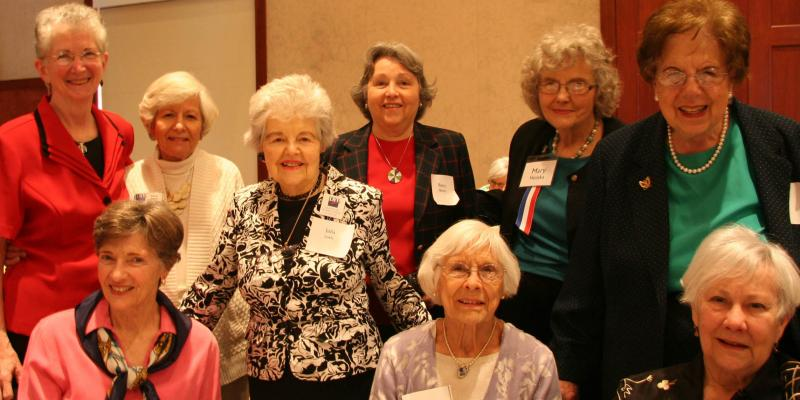 9 members of LWVMC in Richmond 2014