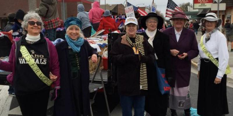LWV Moscow Parade attendees