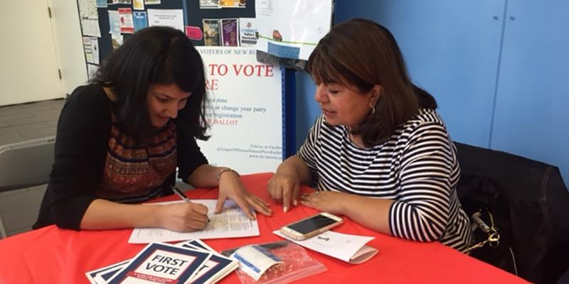League of Women Voters of New Rochelle Voter Registration