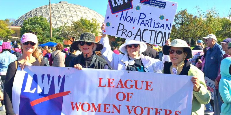 North County League at Women's March 2018